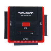 WANLONGXIN WLX-888U3IS USB 3.0 to SATA/IDE Converter Adapter Cable Kit with Power Adapter for 2.5/3.5 inch SATA or IDE Drive